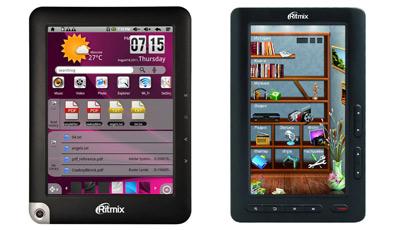Ремонт электронных книг ritmix rbk в
